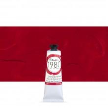 Gamblin : 1980 Oil Paint : 37ml : Quinacridone Red