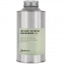 Jackson's : Wet in Wet Fast Dry Oil Painting Medium : 500ml