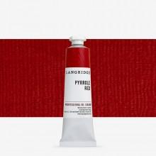 Langridge : Oil Paint : 40ml : Pyrrole Red