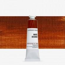 Langridge : Oil Paint : 40ml : Mars Orange