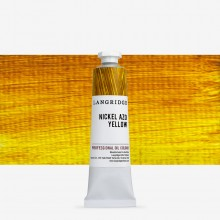 Langridge : Oil Paint : 40ml : Nickel Azo Yellow