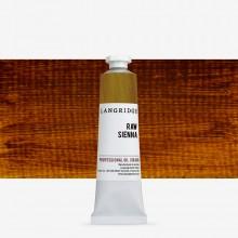 Langridge : Oil Paint : 40ml : Raw Sienna