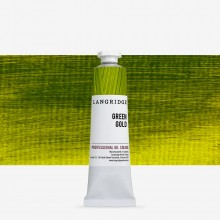 Langridge : Oil Paint : 40ml : Green Gold