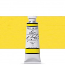 M. Graham : Artists' Oil Paint : 37ml : Azo Yellow