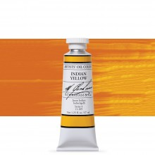 M. Graham : Artists' Oil Paint : 37ml : Indian Yellow