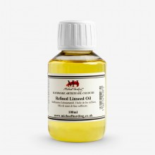 Michael Harding : Refined Linseed Oil : 100ml
