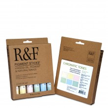 R&F : Pigment Stick Set : 38ml : Chromatic Set : 6 Colours