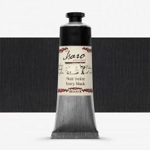 Isaro : Oil Paint : 38ml : Ivory Black
