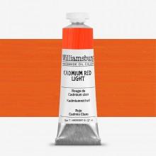 Williamsburg : Oil Paint : 37ml Cadmium Red Light