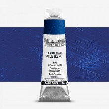 Williamsburg : Oil Paint : 37ml : Safflower Cerulean Blue French