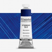 Williamsburg : Oil Paint : 37ml : Safflower Ultramarine Blue