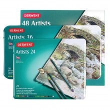 Derwent : Artists Coloured Pencil Sets