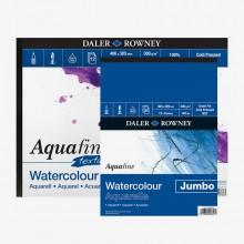 Daler Rowney : Aquafine Watercolour Paper : Gummed Pads
