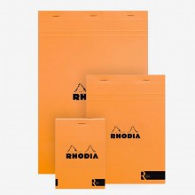 Rhodia : Le R Unlined Pad : Orange Cover