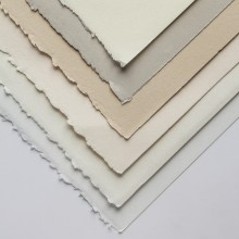 Stonehenge Papers : 250 gsm : 22 x 30 in : Vellum-Like, 2 Deckled Edges