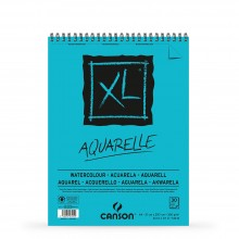 Canson : XL : Watercolour : Spiral Pad : 300gsm : 30 Sheets : A4 : Cold Pressed