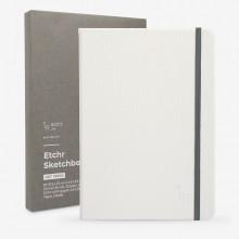 Etchr : Portrait Sketchbook : 100% Cotton : 220gsm : B5 : Hot Pressed