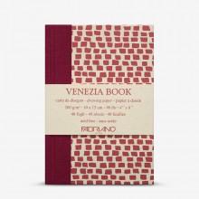 Fabriano : Venezia Book : 10x15cm : 4x6in : 200gsm : Academia Cartridge