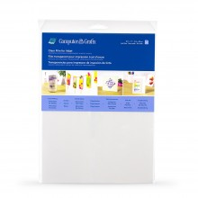 Grafix : Clear Adhesive Backed Film for Inkjet A4 : 6 Pack