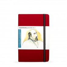 Hand Book Journal Company : Drawing Journal : 8.25x5.5in : Portrait : Vermilion Red