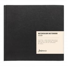 Jackson's : Watercolour Sketchbook : 160gsm : 48 Sheets : 17x15.6cm : Landscape