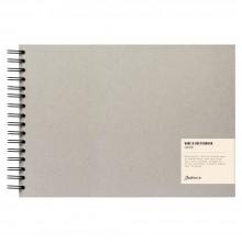Jackson's : Wire-O Sketchbook : 130gsm : 55 Sheets : A4 : Landscape
