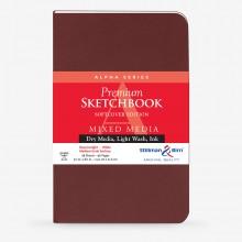 Stillman & Birn : Alpha Softcover Sketchbook : 150gsm : Med Grain : 5.5x8.5in (22x14cm) : Portrait