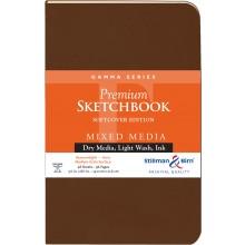 Stillman & Birn : Gamma Softcover Sketchbook : 150gsm : Med Grain : 5.5x8.5in (22x14cm) : Portrait