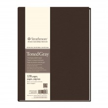 Strathmore : 400 Series : Toned Grey : Softcover Art Journal : 7.75x9.75in