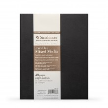 Strathmore : 400 Series : Softcover Toned Tan Mixed Media Sketchbook : 48 Pages : 7.75x9.75in