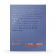 Stonehenge : Aqua Watercolour Paper Block : 140lb (300gsm) : 10x14in : Not