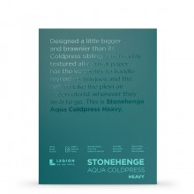 Stonehenge : Aqua Heavy Watercolour Paper Block : 300lb (600gsm) : 9x12in : Not