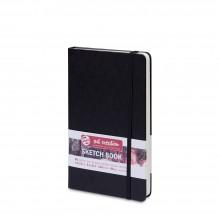 Royal Talens : Art Creation : Hardback Sketchbook : 13x21cm : Black