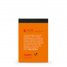 Yupo : Medium Pad : 9.5x6.3cm : Sample : 1 Per Order