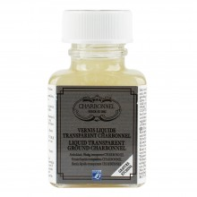 Charbonnel : Liquid Transparent Ground : 75ml