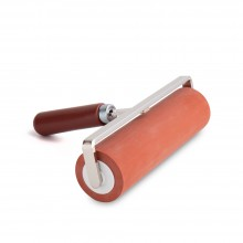Japanese Hard Rubber Roller / Brayer : 60 Shore : 165mm