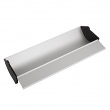 Jackson's : Aluminium Coating Trough : 14 inches : with plastic removable end caps
