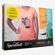 Speedball : Super Value Fabric Screen Printing Set (set 3)