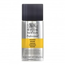 Winsor & Newton : Professional : Soft Pastel Fixative Spray : 150ml : Ship By Road Only