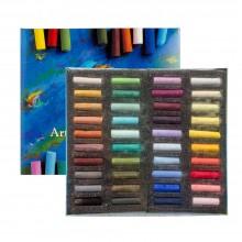 Art Spectrum : Soft Pastel : Half Stick : Set of 40 : Assorted
