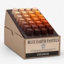 Blue Earth : Soft Pastel : 28 Stick Box Set : Orange