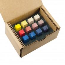Blue Earth : Soft Pastel : Primary Sampler : Set of 12 : 1 Per Order