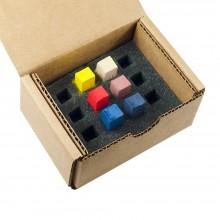 Blue Earth : Soft Pastel : Primary Sampler : Set of 6 : 1 Per Order