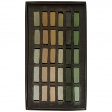 Terry Ludwig : Soft Pastel Set : 30 Neutral Greens