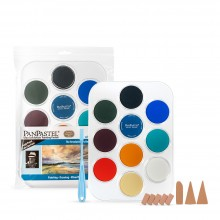 PanPastel : Skyscapes With Les Darlow : Set of 10 Colours : Plus Tools