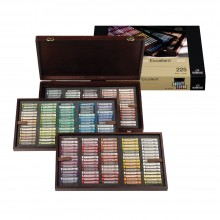 Royal Talens : Rembrandt Soft Pastel : Complete Deluxe Wooden Box Set of 225