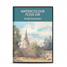 APV : DVD : Watercolour Plein Air : Andy Evansen