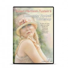 DVD : Susan Harrison-Tustain's Watercolor Portrait Workshop : 2 Disc Set