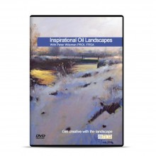 Townhouse : DVD : Inspirational Oil Landscapes : Peter Wileman PROI FRSA