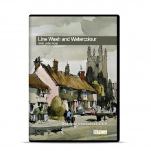 Townhouse : DVD : Line Wash Watercolour : John Hoar